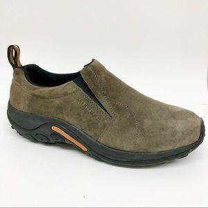 Merrell Jungle Moc Slip On Shoe Suede Leather Sz13